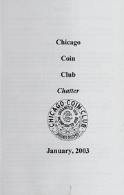 Chicago Coin Club Chatter: 2003