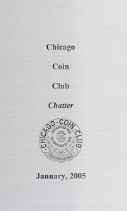 Chicago Coin Club Chatter: 2005