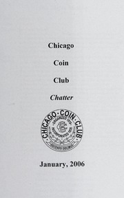 Chicago Coin Club Chatter: 2006