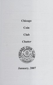 Chicago Coin Club Chatter: 2007