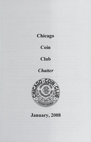 Chicago Coin Club Chatter: 2008