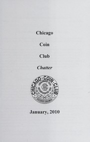 Chicago Coin Club Chatter: 2010