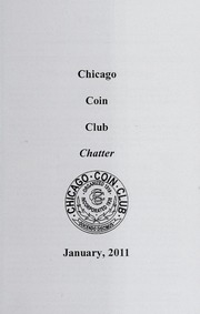Chicago Coin Club Chatter: 2011