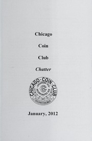 Chicago Coin Club Chatter: 2012