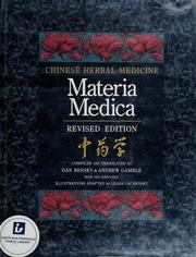 Chinese herbal medicine materia medica bensky pdf