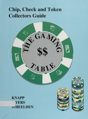 Chip, Check and Token Collectors Guide