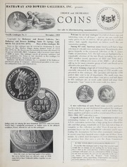 Choice and Desirable Coins Vol. 3 No. 3, December 1969