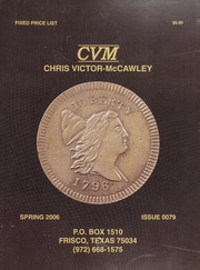 Chris Victor-McCawley Fixed Price List #79