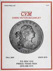 Chris Victor-McCawley Fixed Price List #78