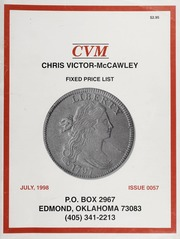 Chris Victor-McCawley Fixed Price List #57