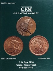 Chris Victor-McCawley Fixed Price List #84
