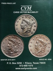 Chris Victor-McCawley Fixed Price List #86