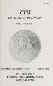 Chris Victor-McCawley Fixed Price List #42