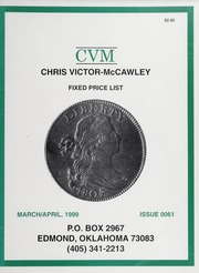 Chris Victor-McCawley Fixed Price List #61