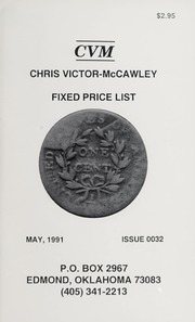 Chris Victor-McCawley Fixed Price List #32