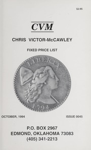 Chris Victor-McCawley Fixed Price List #45