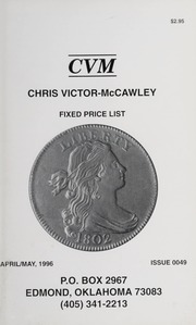 Chris Victor-McCawley Fixed Price List #49