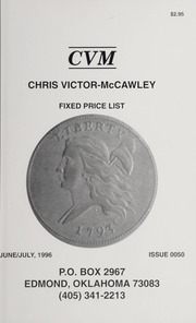 Chris Victor-McCawley Fixed Price List #50