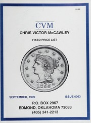 Chris Victor-McCawley Fixed Price List #63