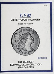 Chris Victor-McCawley Fixed Price List #65
