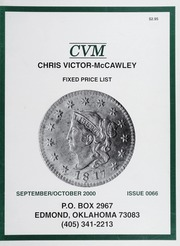 Chris Victor-McCawley Fixed Price List #66