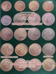 Chris Victor-McCawley Fixed Price List #69 - Winter 2001/2002
