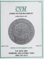 Chris Victor-McCawley Fixed Price List #75