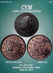 Chris Victor-McCawley Fixed Price List #76
