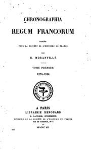 Chronographia regum Francorum