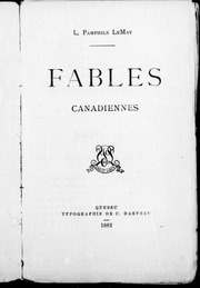 Fables canadiennes microforme
