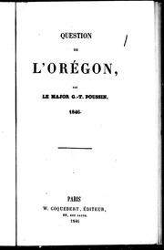 Question de l-Orégon microforme : 1846