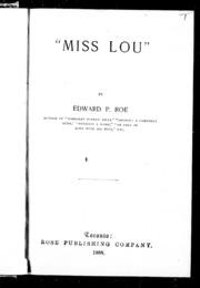 Miss Lou microform