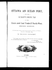 ottawa an port and the emporium of the grain and