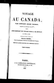 Voyage au Canada microforme