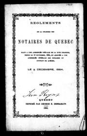 code du notariat et r glements de la chambre des notaires