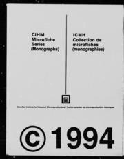 Congrès déducation des canadiens-français dOntario microforme : rapport officiel des séances tenues à Ottawa, du 18 au 20 janvier 1910 : questions déducation et dintérêt général