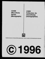 Catalogue de la Bibliothèque paroissiale de la Malbaie microforme