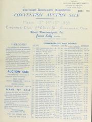 Cincinnati numismatic association auction sale. [03/13-14/1959]