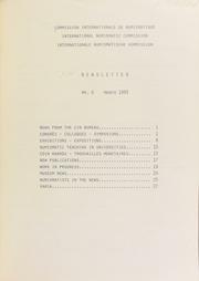 CIN Newsletter 6 (March 1983) : lettre d'information / Ed. H.A. Cahn.