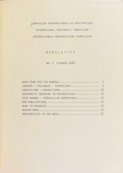 CIN Newsletter 7 (October 1983) : lettre d'information / Ed. H.A. Cahn.