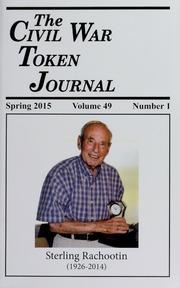 Vol 49n1-4: The Civil War Token Journal
