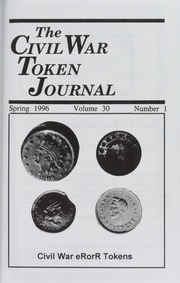 The Civil War Token Journal, vol. 30, no. 1-4, with Index