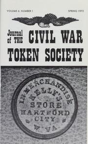 Journal of the Civil War Token Society, vol. 6, no. 1-4