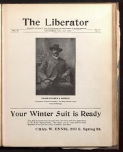 Image of Volume 8, Issue number 1 of The Liberator - 1906 by Jefferson Lewis Edmonds.