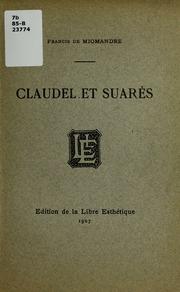 Claudel et Suares