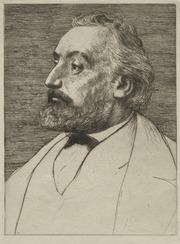 Léon Gambetta : Alphonse Legros (French, 1837-1911) : Free ...
