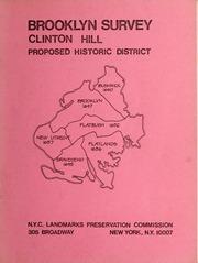 Clinton Hill proposed histo...