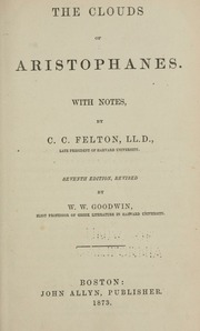 a literary analysis of the greek comedy the clouds by aristophanes A summary of themes in aristophanes's the clouds how to write literary analysis aristophanes's comedy seems to be.