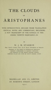 essay on the clouds by aristophanes Bound with süvern, jw two essays on the clouds and on the [gras] of aristophanes translated by wr hamilton, 1836.