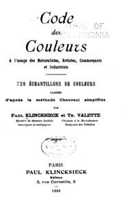 Code des couleurs à l-usage des naturalistes, artistes, commerçants et ...